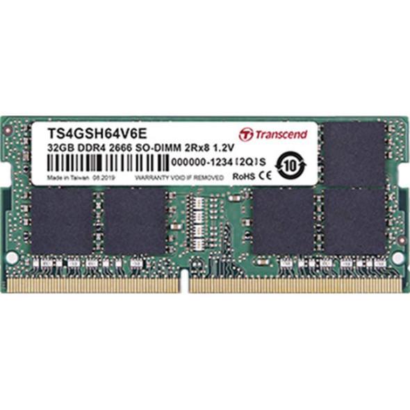 Transcend Memory Laptop DDR4, 32GB (2666)