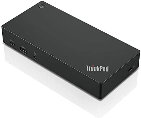 Lenovo Docking Station wired USB 3.2 Gen 1 (3.1 Gen 1) Type-C Black | 40AS0090EU