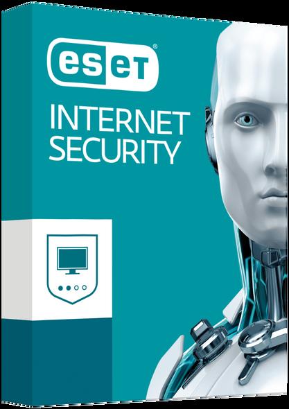 ESET NOD32 Internet Security 1 Licenses for 2 PCs