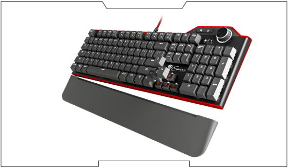 Genesis Keyboard RX85 Blue Backlight | NKG-0958