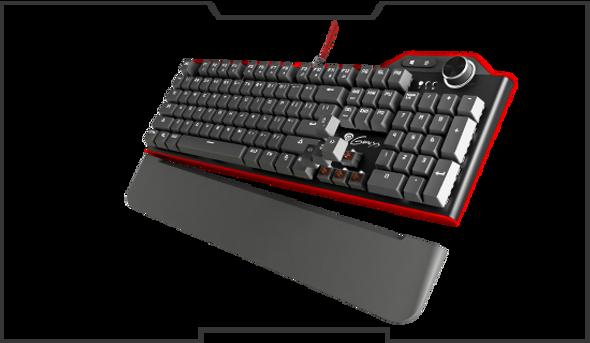 Genesis Keyboard RX85 Red Backlight | NKG-0957