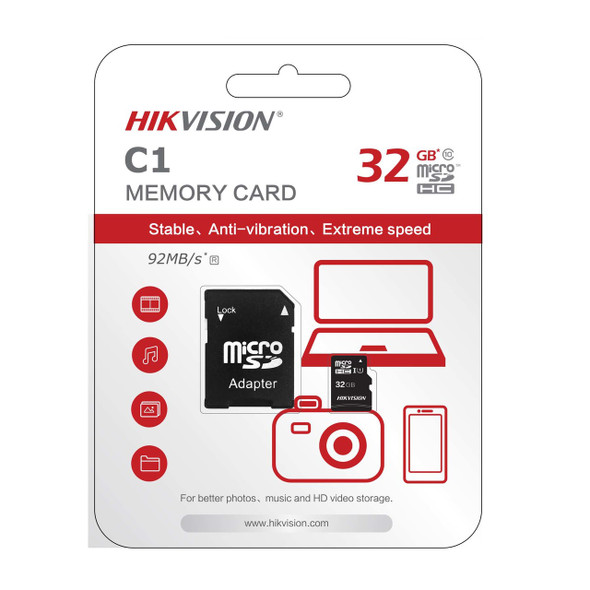 HIKVISION MicroSDHC???? 32GB High Performance