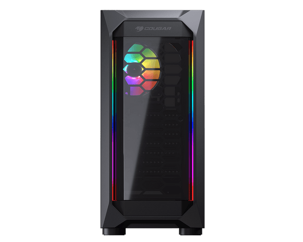 COUGAR MX410-T Powerful and Compact Mid-Tower Case with Dual ARGB Strips | MX410-T