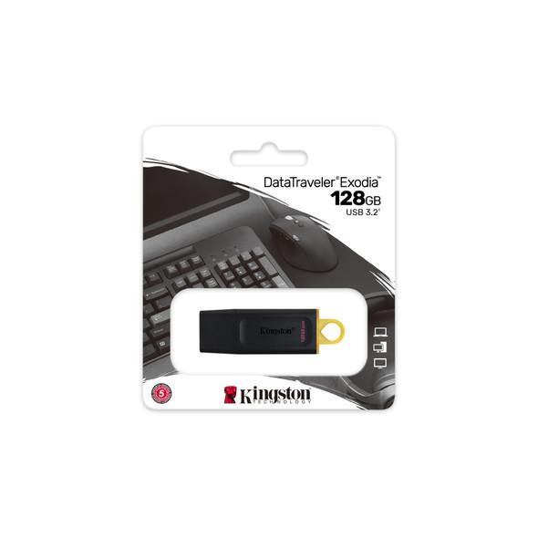 KINGSTON DTX/128 128GB USB 3.2 FLASH DRIVE