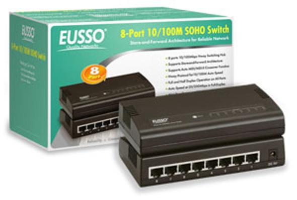 Eusso 8 Port 10/100M Switch | USH5008-XPE