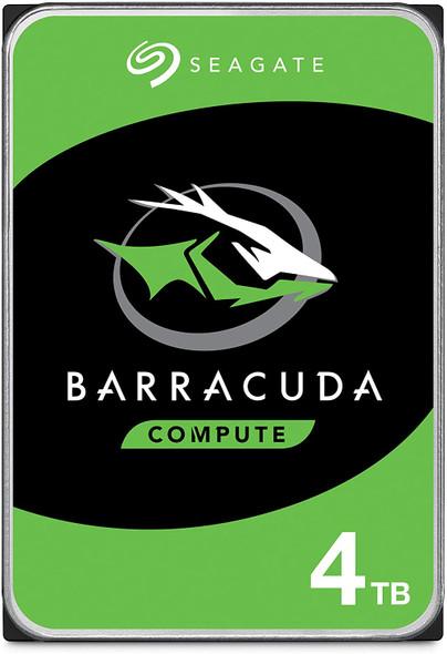 Seagate BarraCuda 4TB Internal Hard Drive HDD – 3.5 Inch Sata 6 Gb/s 5400 RPM 256MB Cache for Computer Desktop PC Laptop | ST4000DM004