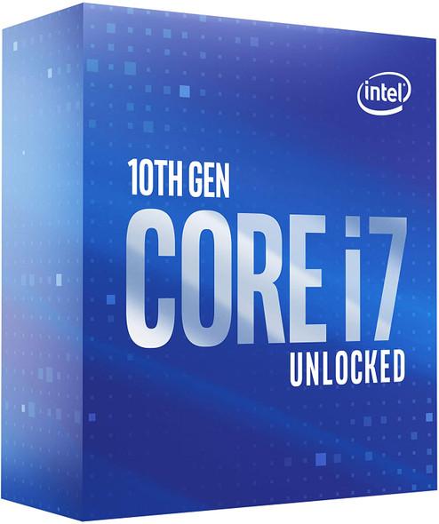 Intel Core i7-10700K Desktop Processor 8 Cores up to 5.1 GHz Unlocked LGA1200 (Intel 400 Series Chipset) 125W | BX8070110700K