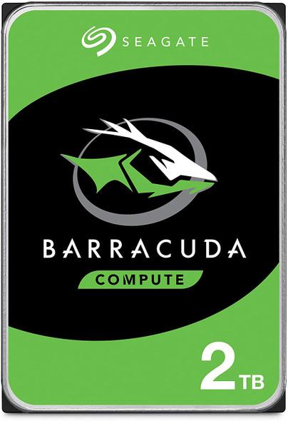 Seagate BarraCuda 2TB Internal Hard Drive HDD – 3.5 Inch SATA 6 Gb/s 7200 RPM 64MB Cache for Computer Desktop PC Laptop | ST2000DM006