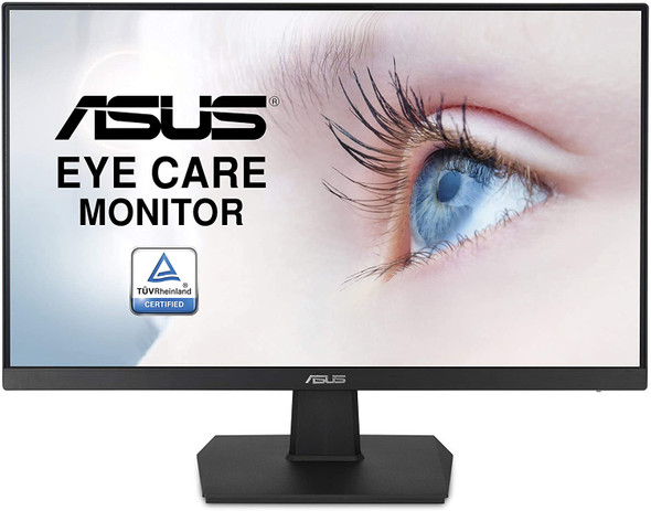 "ASUS 23.8""FHD IPS, Frameless, 75Hz, Adaptive-Sync/FreeSync™, VESA Wall Mountable 100x100mm | VA24EHE"