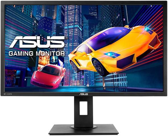 "ASUS Gaming Monitor 28"", 4K, 1ms, Adaptive-Sync/FreeSync™ ,Tilt+Swivel+Pivot, VESA Wall Mountable 100x100mm | VP28UQGL"