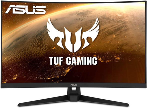 "ASUS TUF Gaming Curved Gaming Monitor  | 31.5"" 1500R, FHD, 1ms (MPRT) 165Hz, Built in Speakers, ELMBR™, Adaptive-sync, FreeSync™ Premium, VESA Wall Mountable 100x100mm | VG328H1B"