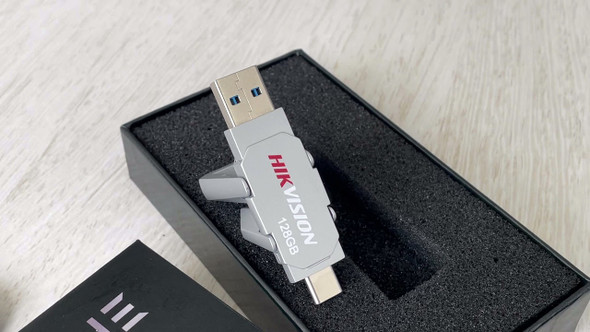 HIKVISION USB Engine 128GB USB Flash Drive (6941264081968)
