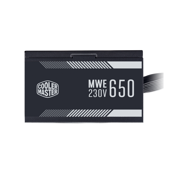 Cooler Master MWE 650 WHITE 230V - V2 80 PLUS STANDARD 230V EU CERTIFIED POWER SUPPLY | MPW-6501-ACABW-EU
