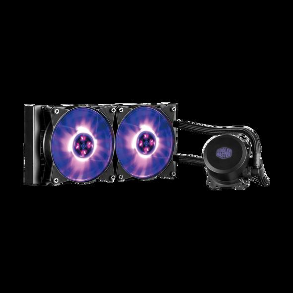 Cooler Master MASTERLIQUID RGB Liquid CPU Cooling | ML240L