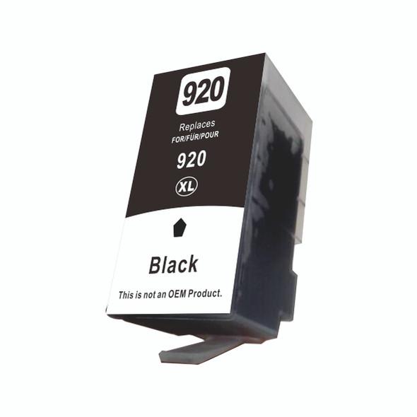 echnoColor 920XL Black HP Compatible INKJET Cartridge (CD975AE)