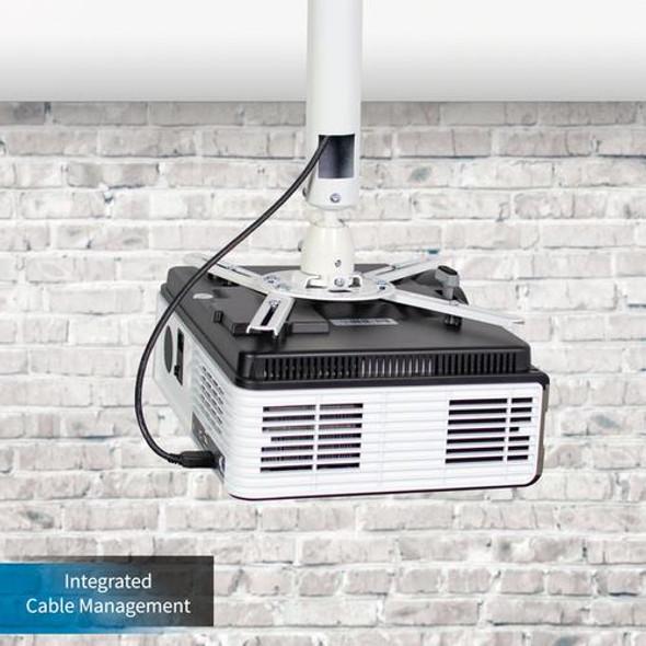 SkyPro Projector Ceiling /wall Mount adjustable 38Cm~62Cm -- (Black  ) | PMB305