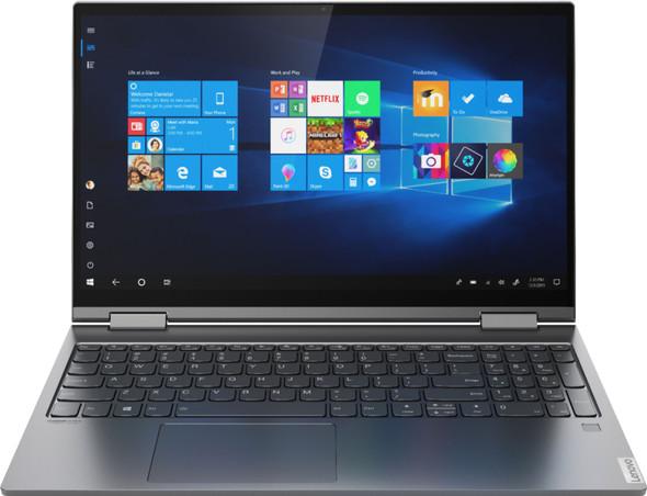 "Lenovo Yoga C740 2-in-1 15.6"" Touch Screen Laptop - Intel Core i5 - 8GB Memory - 512GB SSD + 32GB Optane H10 - Iron Grey | 81TD0078US"