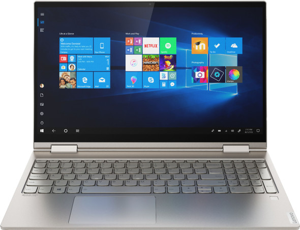 """Lenovo Yoga C740 2-in-1 15.6"""" Touch Screen Laptop - Intel Core i7 - 12GB Memory - 512GB SSD - Mica 
