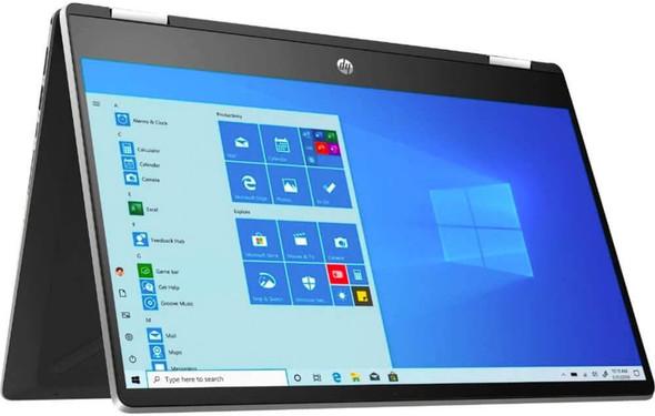 "HP 14-DH2075 I5-1035/8/256GB SSD 2in1 Win10 14"" TS Silver Laptop | 9VB20UA#aba"