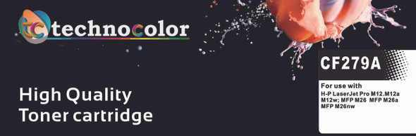 TechnoColor 79A Black HP Compatible LaserJet Toner Cartridge (CF279A) (view)