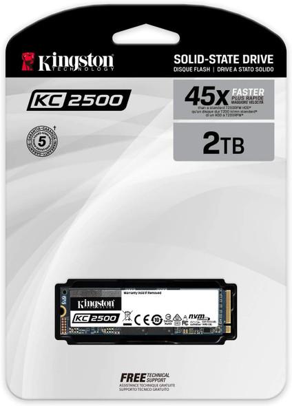 KINGSTON SSD NVME 2TB KC2500 M2 | SKC2500M8/2000G