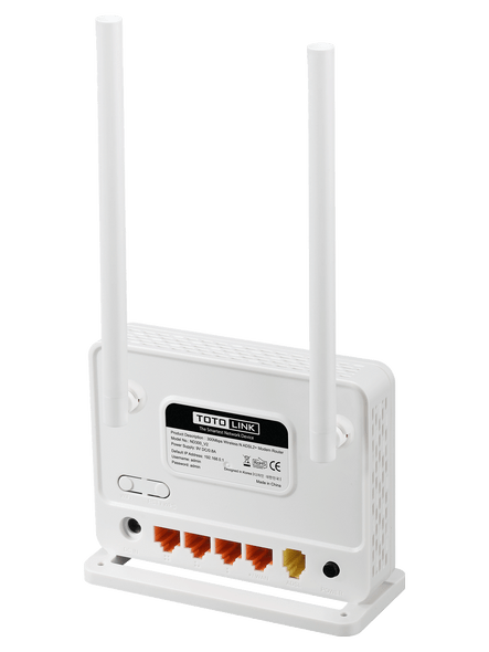 TOTOLINK ND300 300Mbps Wireless N ADSL Modem Router | ND300