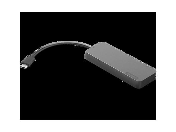 Lenovo USB-C to 4 Port USB-A Hub | GX90X21431