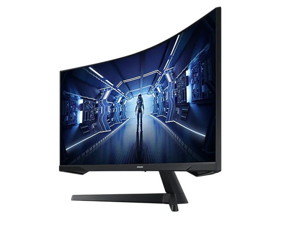 Samsung 34'' LED Curved Monitor Ultra WQHD (Including HDMI Cable) | LC34G55TWWMXZN