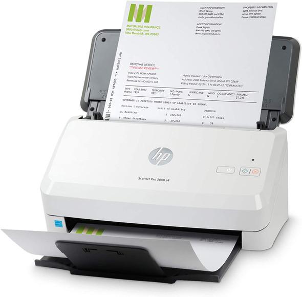 HP ScanJet Pro 3000 s4 Sheet-Feed Scanner | 6FW07A