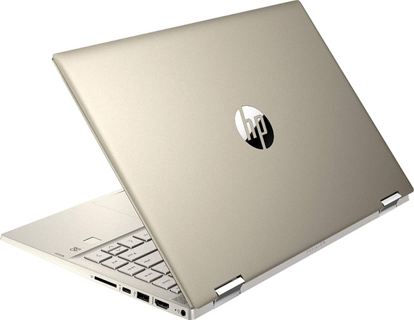 """HP - Pavilion x360 2-in-1 14"""" Touch-Screen Laptop - Intel Core i5 - 8GB Memory - 256GB SSD - Warm Gold 
