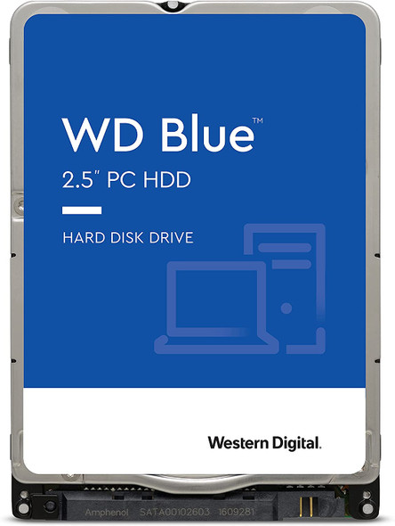 "Western Digital 1TB WD Blue Mobile Hard Drive HDD - 5400 RPM, SATA 6 Gb/s, 128 MB Cache, 2.5"" | WD10SPZX"