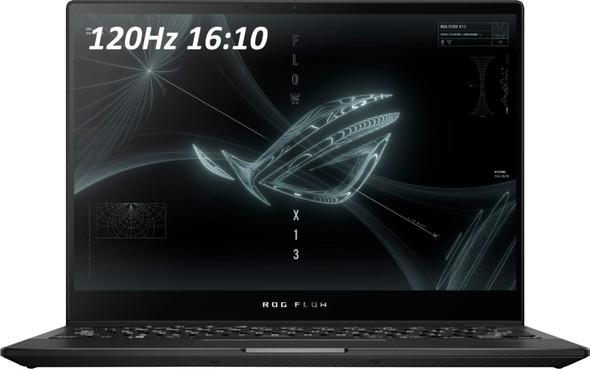 "ASUS - ROG 13.4"" Touchscreen Gaming Laptop - AMD Ryzen 9 - 16GB Memory - NVIDIA RTX3050 Ti V4G Graphics - 1TB SSD - OFF BLACK - OFF BLACK | GV301QE-211.ZG13"