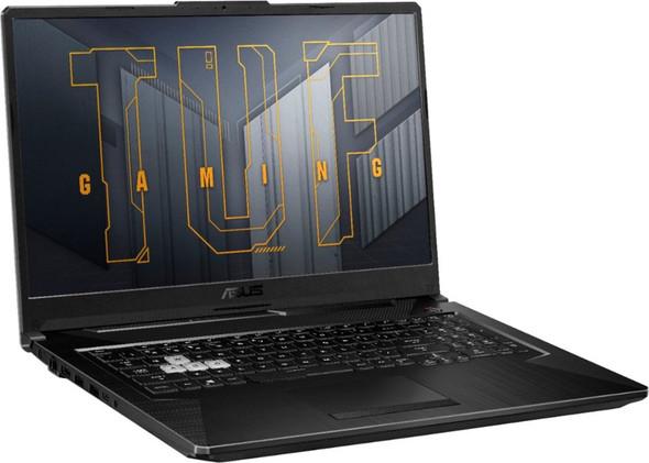 "ASUS - TUF Gaming 17.3"" Laptop - Intel Core i5 - 8GB Memory - NVIDIA GeForce RTX3050 Ti - 512GB SSD - Eclipse Grey | FX706HE-211.TM17"