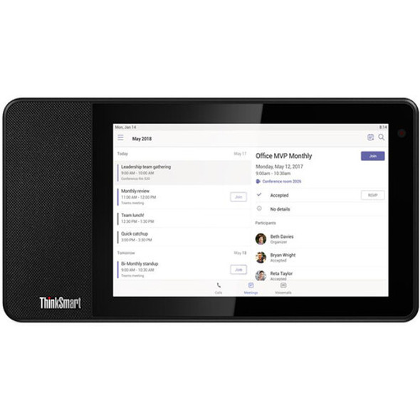 Lenovo ThinkSmart View Standalone Video-Conferencing Device for Microsoft Teams (Wi-Fi) | ZA690000US