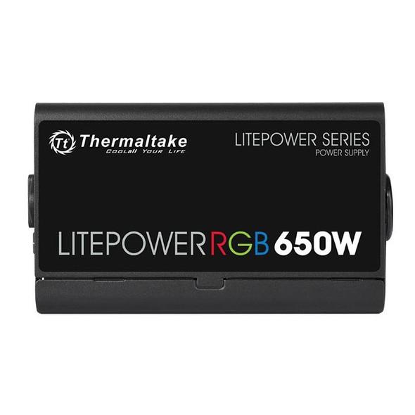 Thermaltake  Litepower RGB 650W (230V) Non-modular PSU with RGB hydraulic bearing fan | PS-LTP-0650NHSANE-1