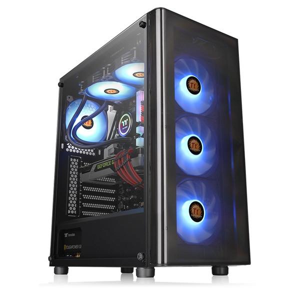 Thermaltake V200 Tempered Glass RGB Edition Case | CA-1K8-00M1WN-01