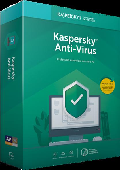KASPERSKY Anti-Virus 1 User | KL1171F5AFS-20
