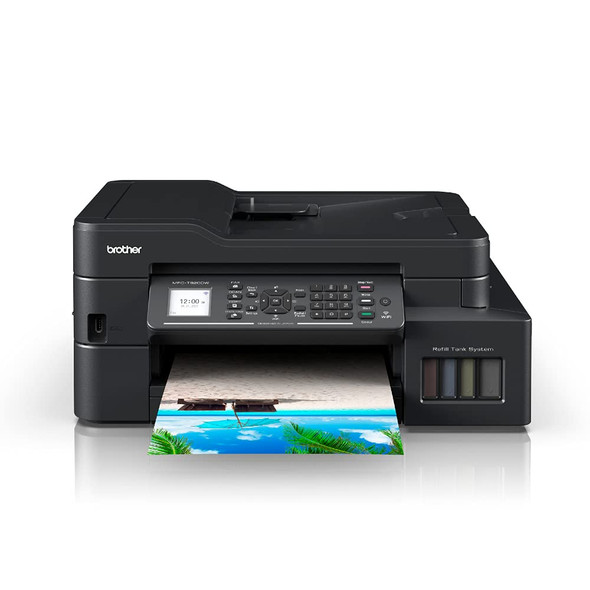 Brother All-in One Ink Tank Refill System Printer with Wi-Fi and Auto Duplex Printing | MFC-T920DW