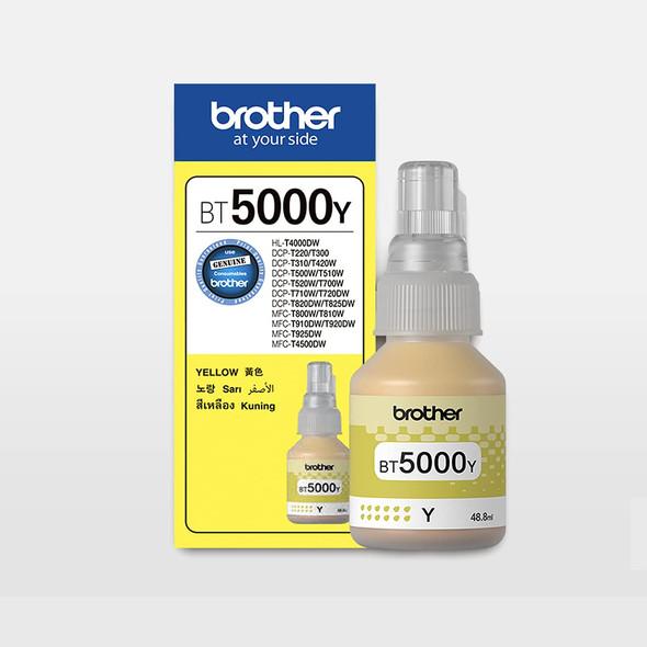 Brother BT5000Y Original Yellow Ink Cartridge | 8ZC8C200340