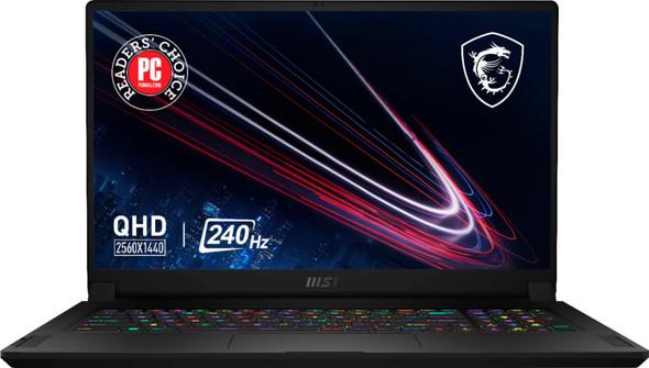 "MSI - GS76 17.3"" QHD 240hz Gaming Laptop - Intel Core i9 - NVIDIA GeForce RTX 3070 - 1TB SSD - 32GB Memory - Black   GS7611232"