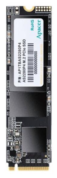 Apacer SSD NVMe 512GB R/W 3000/2000 MB/s | AP512GAS2280P4-1