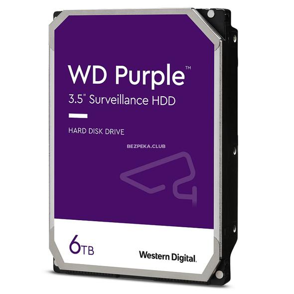 "Western Digital 6TB Purple 3.5"" HDD SATA III | WD62PURX"