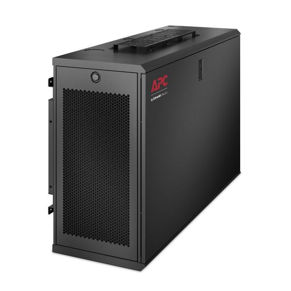 APC NetShelter 6U Low-Profile Wallmount Rack Enclosure Cabinet 230V Server Depth | AR106VI