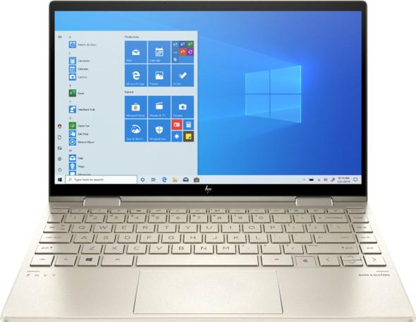 "HP - ENVY 2-in-1 13"" Touch-Screen Laptop - Intel Evo Platform Core i5 - 8GB Memory - 256GB SSD - Pale Gold | 13-bd0063dx"