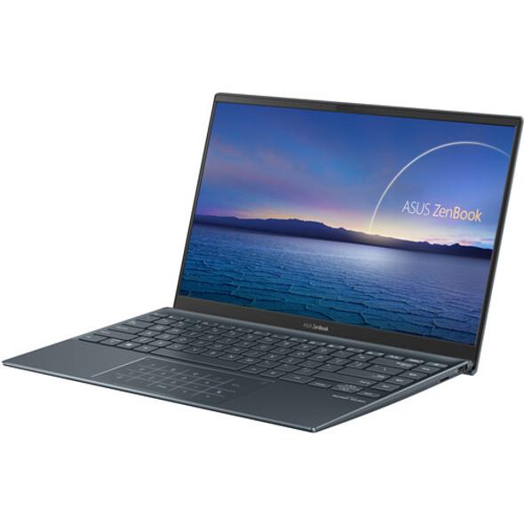 "ASUS - ZenBook 14"" Laptop - Intel Core i7 - 8GB Memory - 512GB Solid State Drive - Pine Gray   UX425EAEH71"