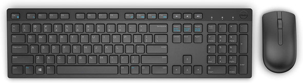 Dell Wireless Keyboard and Mouse -Arabic - Black | KM636