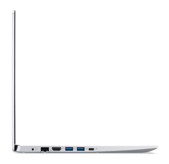 Acer Aspire 5 Slim 15.6-inch Laptop (Core i5-1035G1/8GB/1TB HDD + 256GB SSD/Window 10, Home, 64Bit/Intel UHD Graphics), Silver | A515-55-55R6