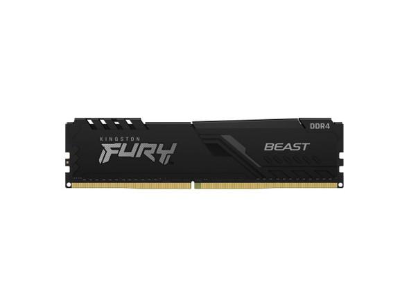 Kingston Fury Beast 8GB DDR4 3200MHz 288pin DIMM Memory Module | KF432C16BB/8