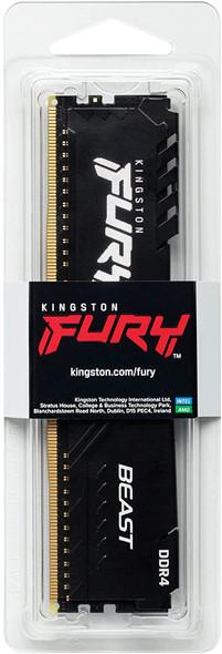 Kingston Fury Beast 16 GB 3200 MHz DDR4 CL16 Desktop Memory Single Module | KF432C16BB1/16