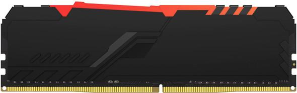Kingston Fury Beast RGB 16GB 3200MHz DDR4 CL16 Desktop Memory Single Stick | KF432C16BB1A/16